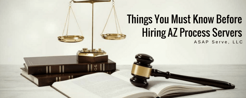 Things you must know before hiring process servers