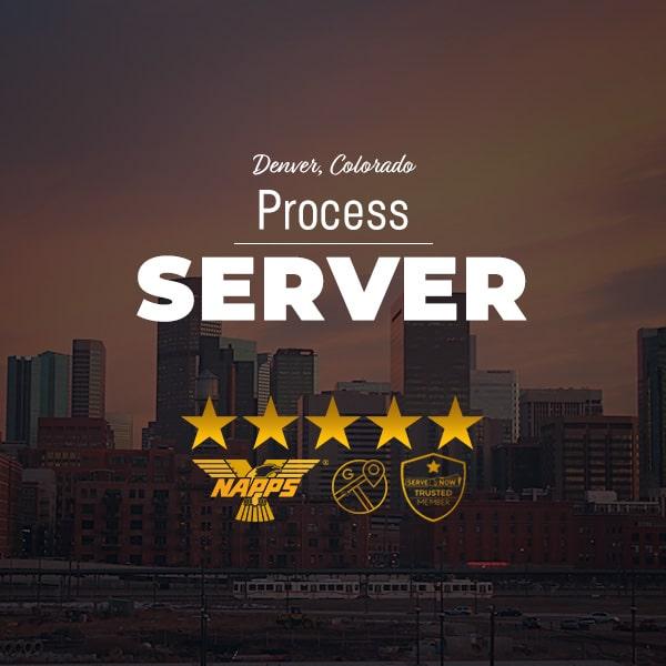 Process Server Denver Colorado